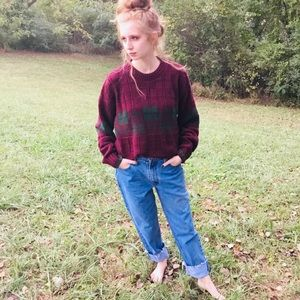 Vintage 80s oversized chunky Woolrich sweater
